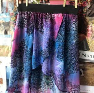 2b Bebe High Low Skirt